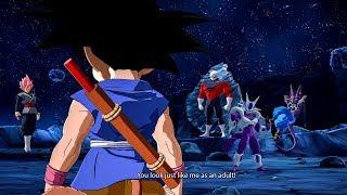 GOKU MEETS GOKU BLACK! DRAGON BALL FighterZ DLC 6  Easter Eg...