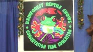 The Rainforest Reptile Show Treks into the Long Island Pet Expo