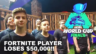 Fortnite Player Letw1k3 Loses $50,000 For Suspected Cheating - Fortnite World Cup Finals