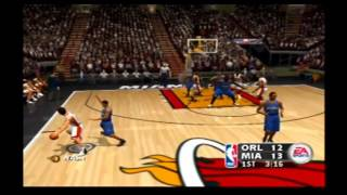 NBA Live 2004 Custom Teams Orlando Magic vs Miami Heat