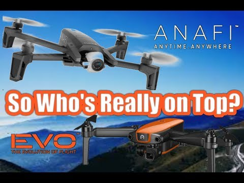 Parrot Anafi vs Autel Evo Who's Really On Top?