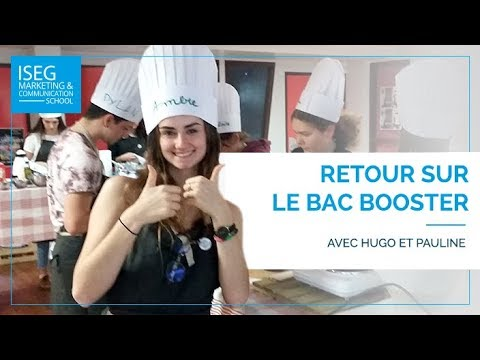 BAC Booster : objectif BAC avec mention !