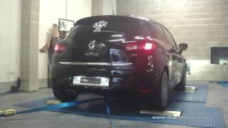 Renault Clio 4 0.9 tce 90cv Reprogrammation Moteur @ 116cv Digiservices Paris 77 Dyno