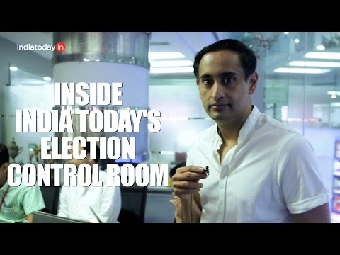 Inside India Today's Election Data Collection Centre
