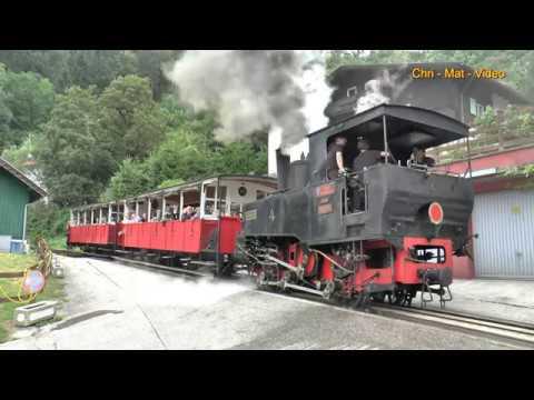 Die Achenseebahn - Unter Volldampf Zwischen Jenbach Und Seespitz