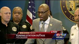Watch again: Latest update on turbine outage in New Orleans