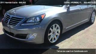 2011 Hyundai Equus Ultimate - for sale in DORAL, FL 33172