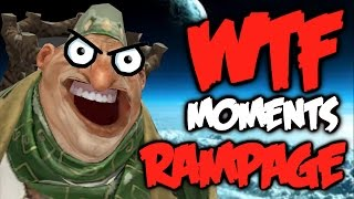 One of Dota Watafak's most viewed videos: Dota 2 WTF Rampage Compilation