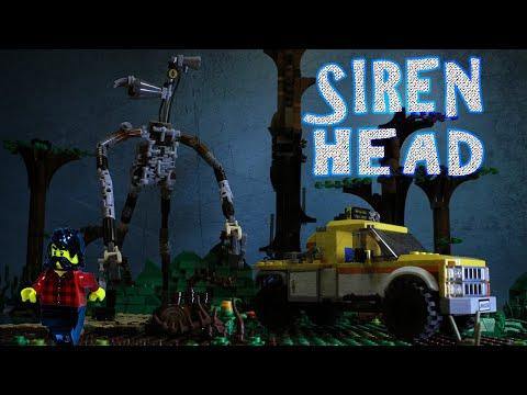 LEGO SIREN HEAD