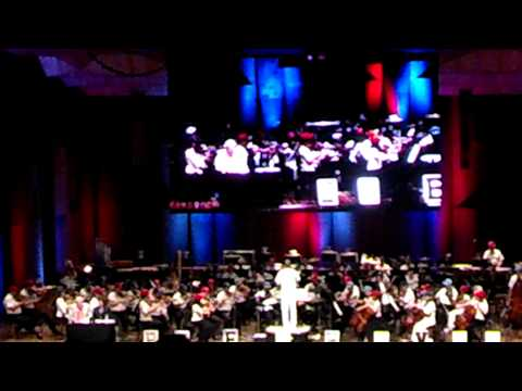 The Philadelphia Orchestra perform