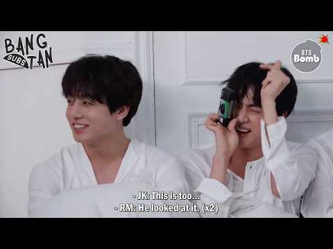 [ENG] 180727 [BANGTAN BOMB] Get Baby JK's attention - BTS (방탄소년단)