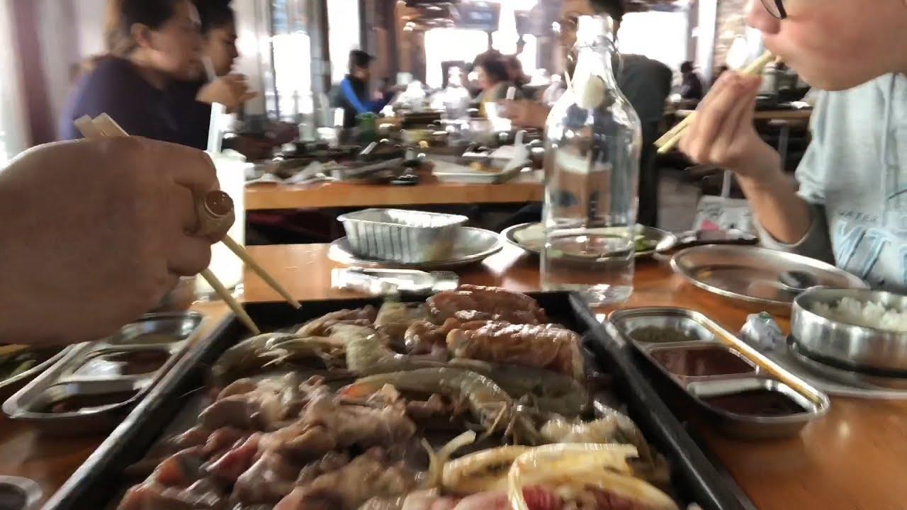 Korean Bbq In San Diego California Usa 356 Korean Bbq Chaw Noj Mov