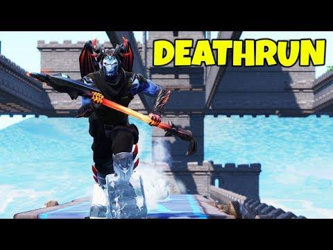 NEW DEATHRUN MAP?! (CIZZORZ PLAYS CREATIVE MODE DEATHRUN)