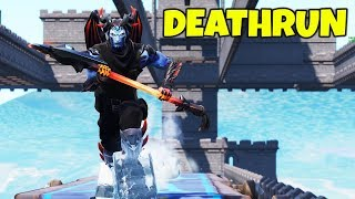 NEW DEATHRUN MAP?! (CIZZORZ PLAYS CREATIVE MODE DEATHRUN)
