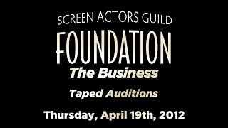 The Business: Taped Auditions