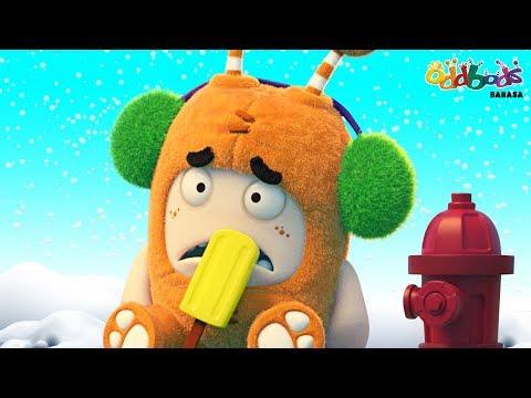 Oddbods | Es Loli Natal | Kartun Lucu Untuk Anak