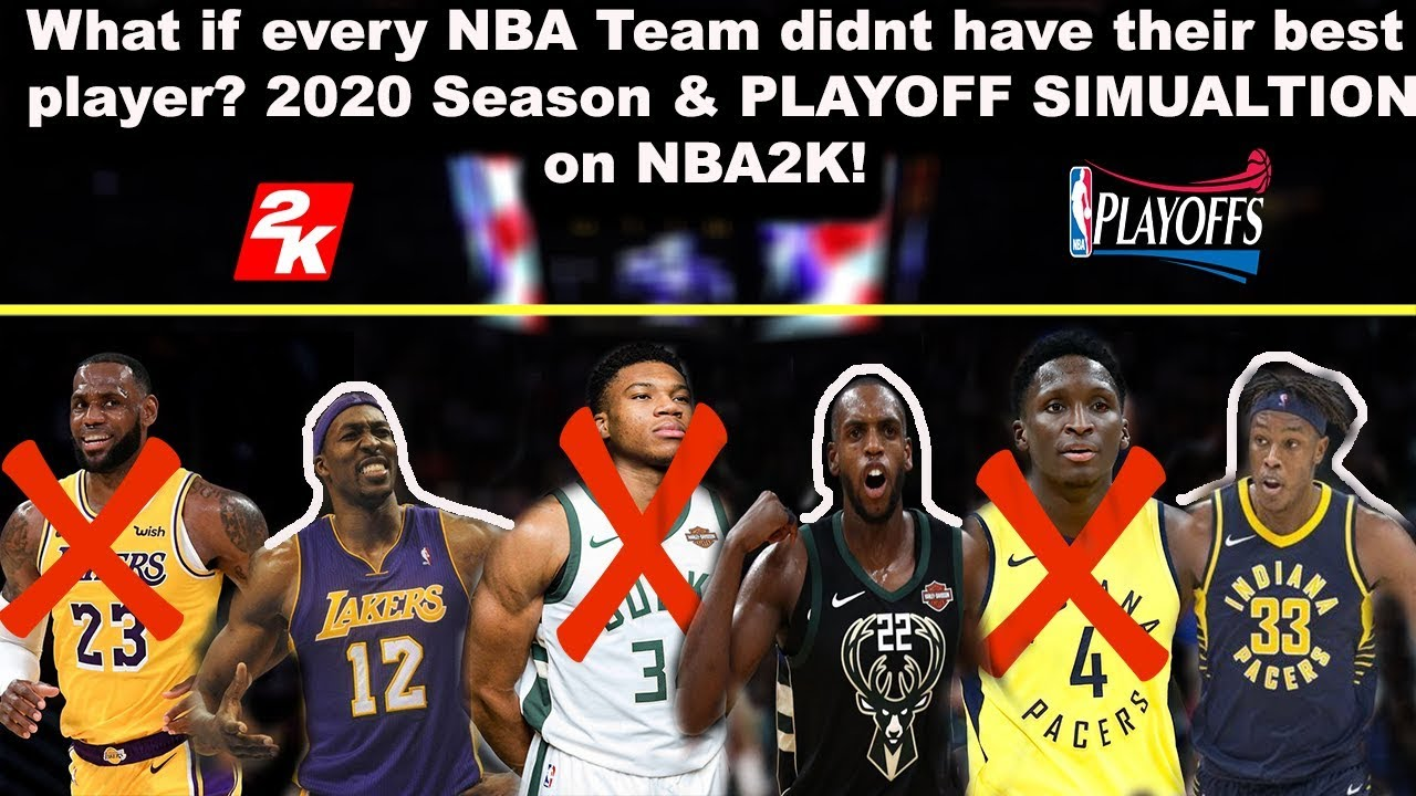 Best Nba Players 2020.Removing Each Teams Best Player 2020 Nba Season Playoff Simulation On Nba2k