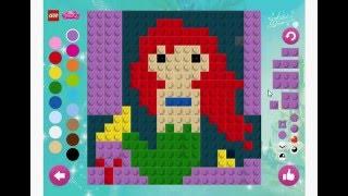 Лего Дисней Принцесса игра Мозаика (Lego Disney Princess Mosaic Game)