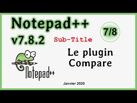 Installation Et Utilisation Du Plugin Compare Sur Notepad++