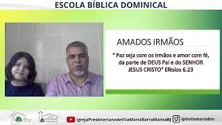ESCOLA BÍBLICA DOMINICAL-1ª CARTA AOS TESSALONICENSES