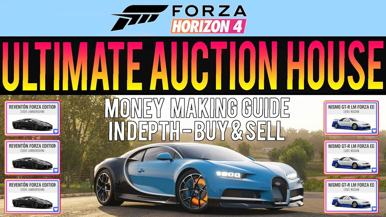 forza horizon 4 ultimate auction house guide make. Black Bedroom Furniture Sets. Home Design Ideas