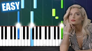 Bebe Rexha - Meant to Be (feat. Florida Georgia Line) - EASY Piano Tutorial by PlutaX Mp3