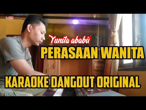 Karaoke Dangdut - PERASAAN WANITA  - Vidio Lirik
