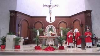 Sunday Mass April 5, 2020