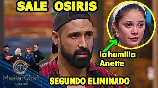 MasterChef México 2018 Sale Osiris, Capitulo 3