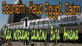 1 Египет Каир Виза Анкета Сколько стоит Как недорого доехать из аэророрта в центр города Egypt Cairo