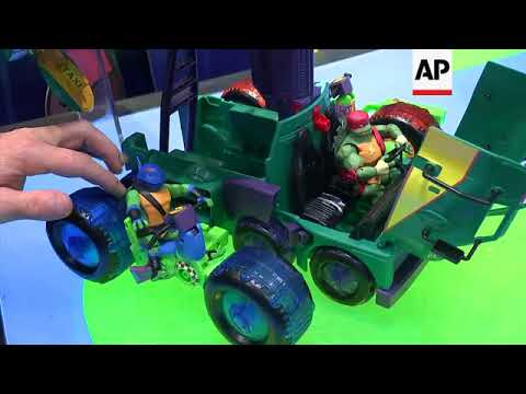 Toymakers show off their products new and old at the New York toy fair