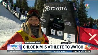 Chloe Kim Athlete To Watch