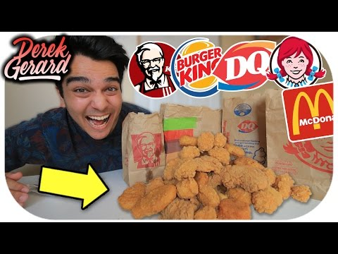 WHO HAS THE BEST CHICKEN NUGGETS?!  Fast Food Olympics