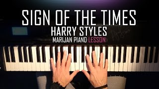 How To Play: Harry Styles - Sign Of The Times | Piano Tutorial Lesson