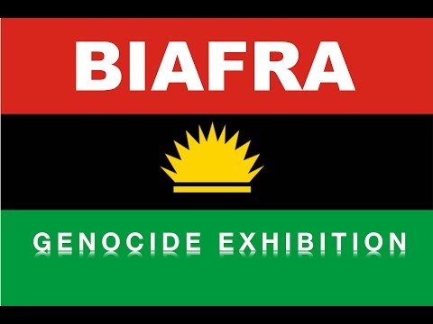Biafran Genocide Exhibition & the new Biafran World Headquarters in Germany