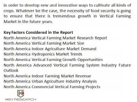 North America Hydroponics Market Trends, US Vertical Farming Market Research Report - Ken Research
