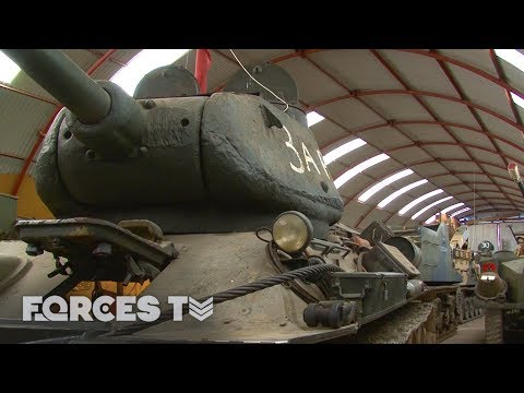 The Man Whose Tank Collection Got WAY Out Of Hand | Forces TV