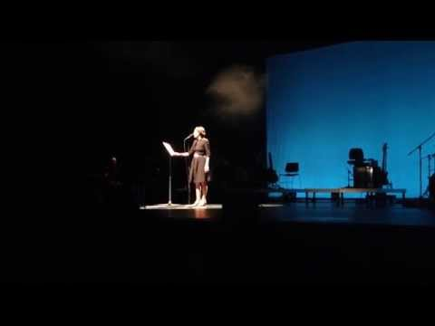 Luz Casal sings Giorgos Seferis - Theodorakis - Thessaloniki 9/9/2014