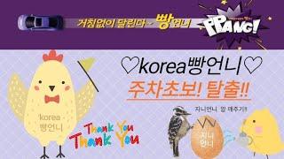 korea빵언가 간다/ 주행 주차 복습중~~/(주)라레…