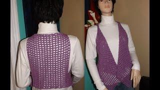 Crochet Bolero O Chaleco Bien Facil.