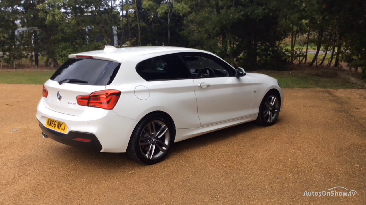 bmw 1 series 120d m sport white 2016 youtube. Black Bedroom Furniture Sets. Home Design Ideas