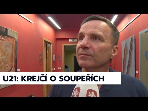 Karel Krejčí o soupeřích reprezentace U21