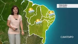 Previsão Nordeste – Pancadas pelo interior