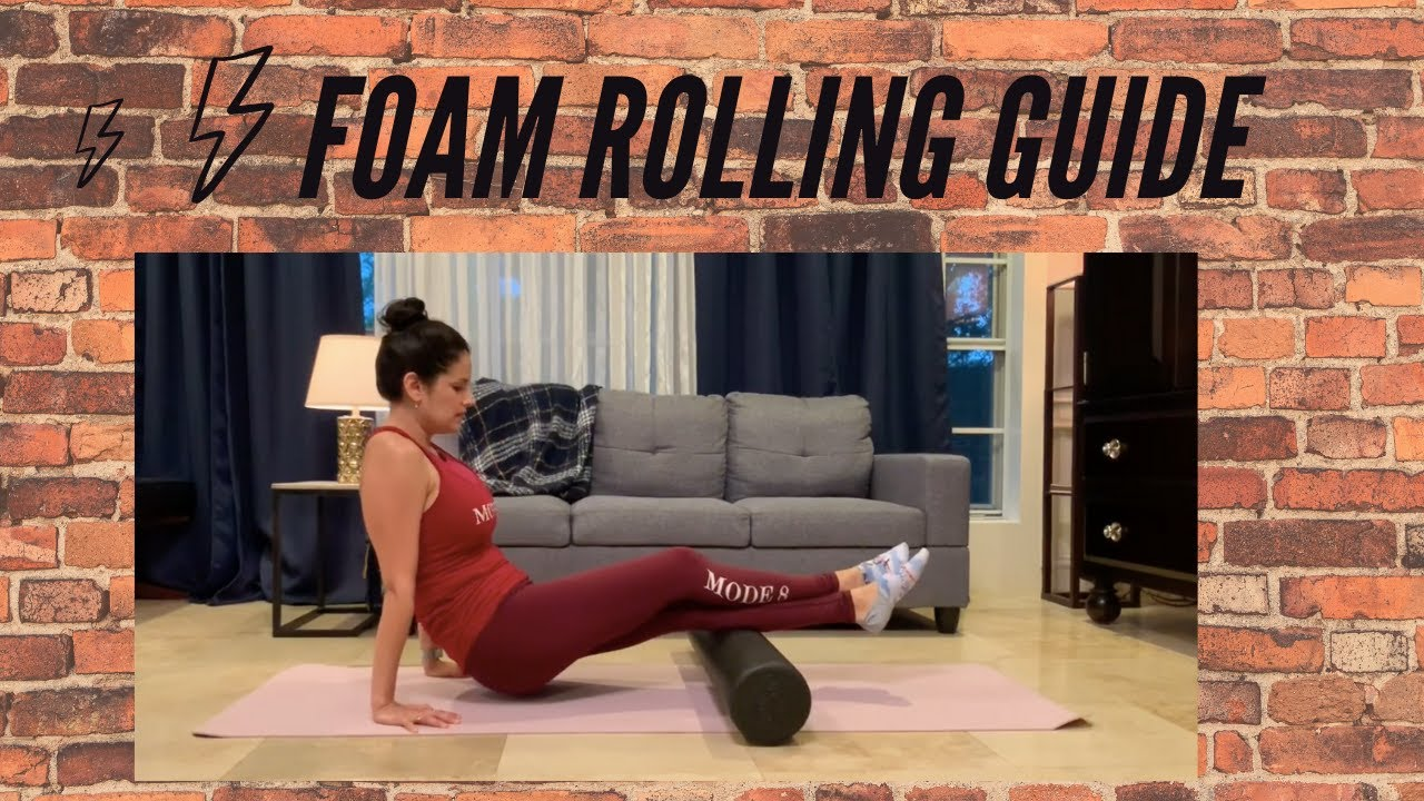 Foam Roll to Prevent Injury. Simple and Effective Tips from Mode 8!