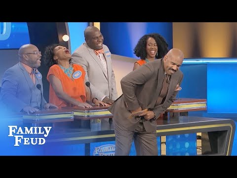 I ain't just got a TOOL BABY, I got the WHOLE BOX! | Family Feud