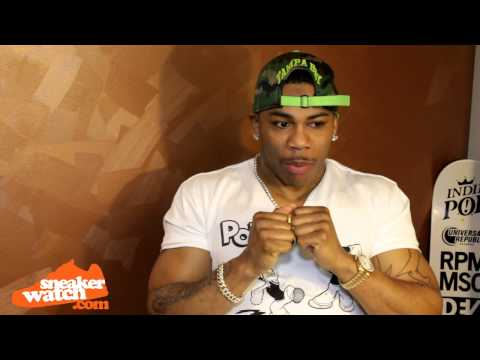 Nelly Explains Why The Air Force 1 Fell Off