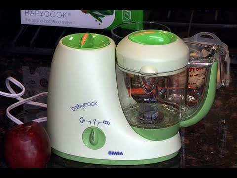 Review Beaba Babycook Baby Food Maker Youtube