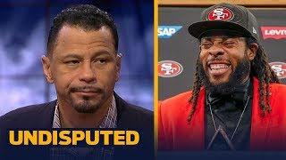 Rod Woodson on Richard Sherman signing deal with San Francisco without an agent | UNDISPUTED