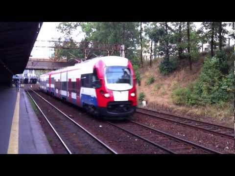 [WKD] Warszawska Kolej Dojazdowa - Warsaw Commuter Railway EMU from...
