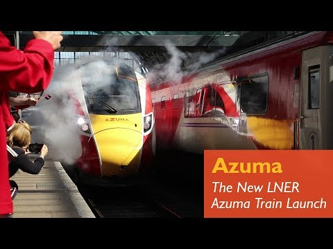 The Very First LNER Azuma In Service!